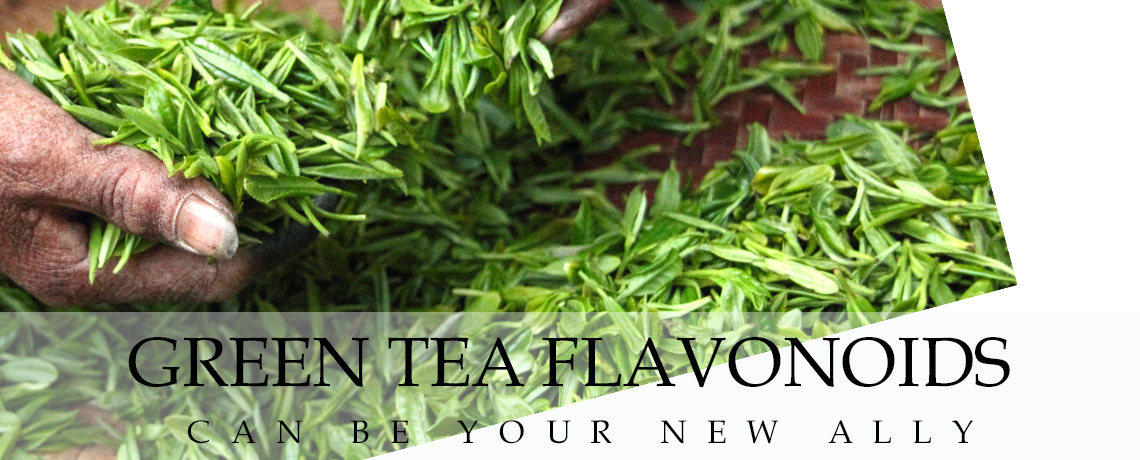 Green Tea Flavonoids can be your New Ally